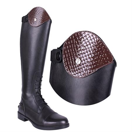 Exchangeable Top of Riding Boot QHP Romy Glitter