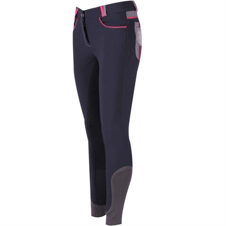 Pantalon d'Équitation QHP Kamila Full Grip