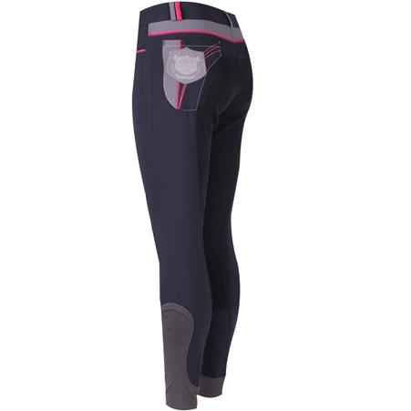 Pantalon d'Équitation QHP Lindy Full Grip