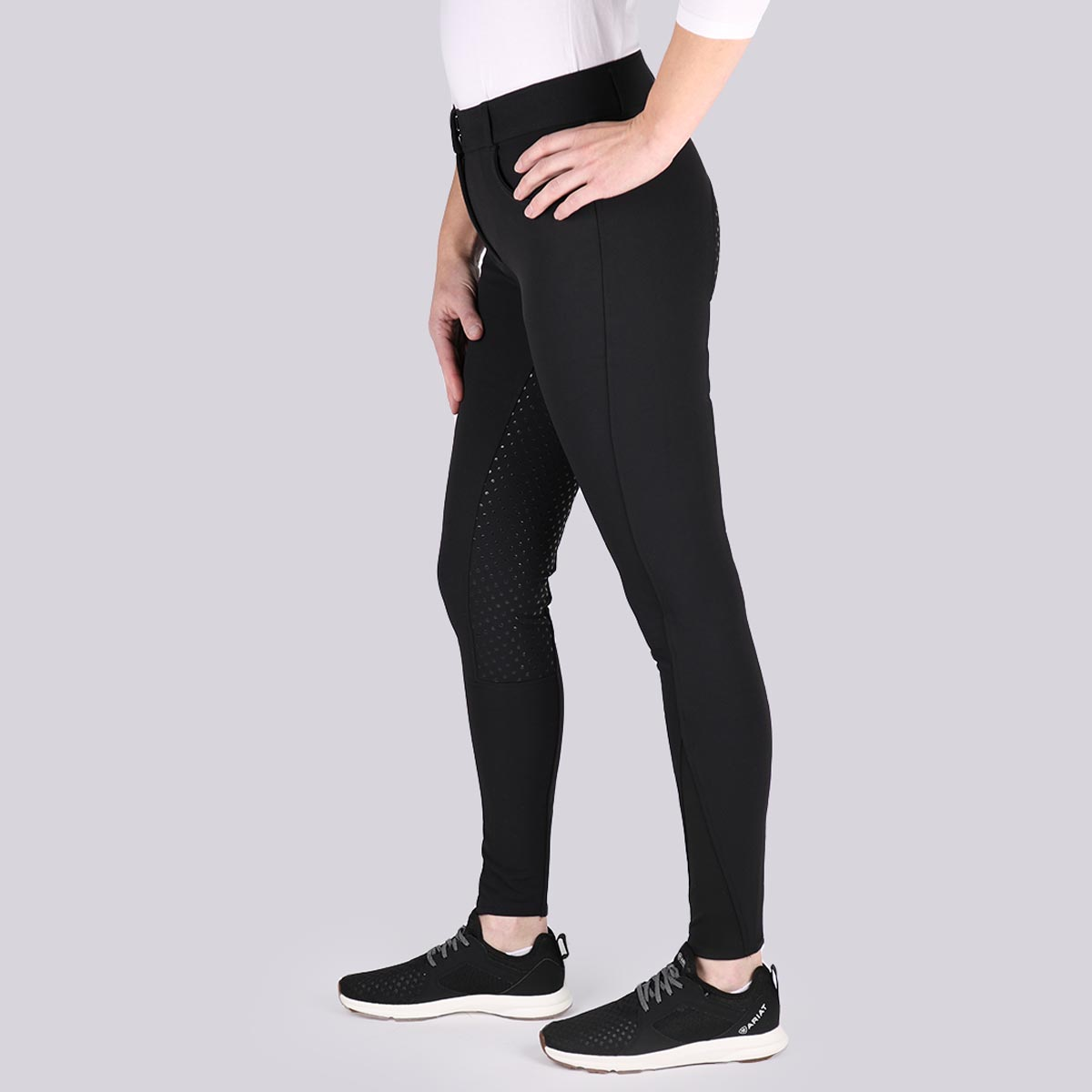 Rijlegging Rebel By Montar Angela Kniegrip, 34�in leopard