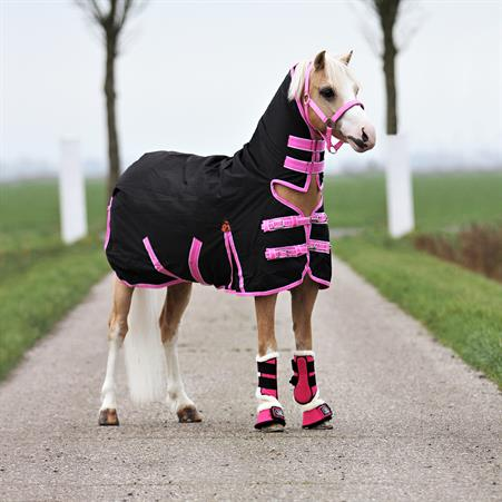 Toy Horse Winter Saddled